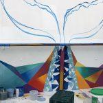 Caribbean Princess Cruises Diego Bormida Artist mural resin dipinti (134)