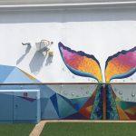 Caribbean Princess Cruises Diego Bormida Artist mural resin dipinti (155)