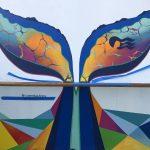 Caribbean Princess Cruises Diego Bormida Artist mural resin dipinti (160)