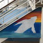 Caribbean Princess Cruises Diego Bormida Artist mural resin dipinti (99)