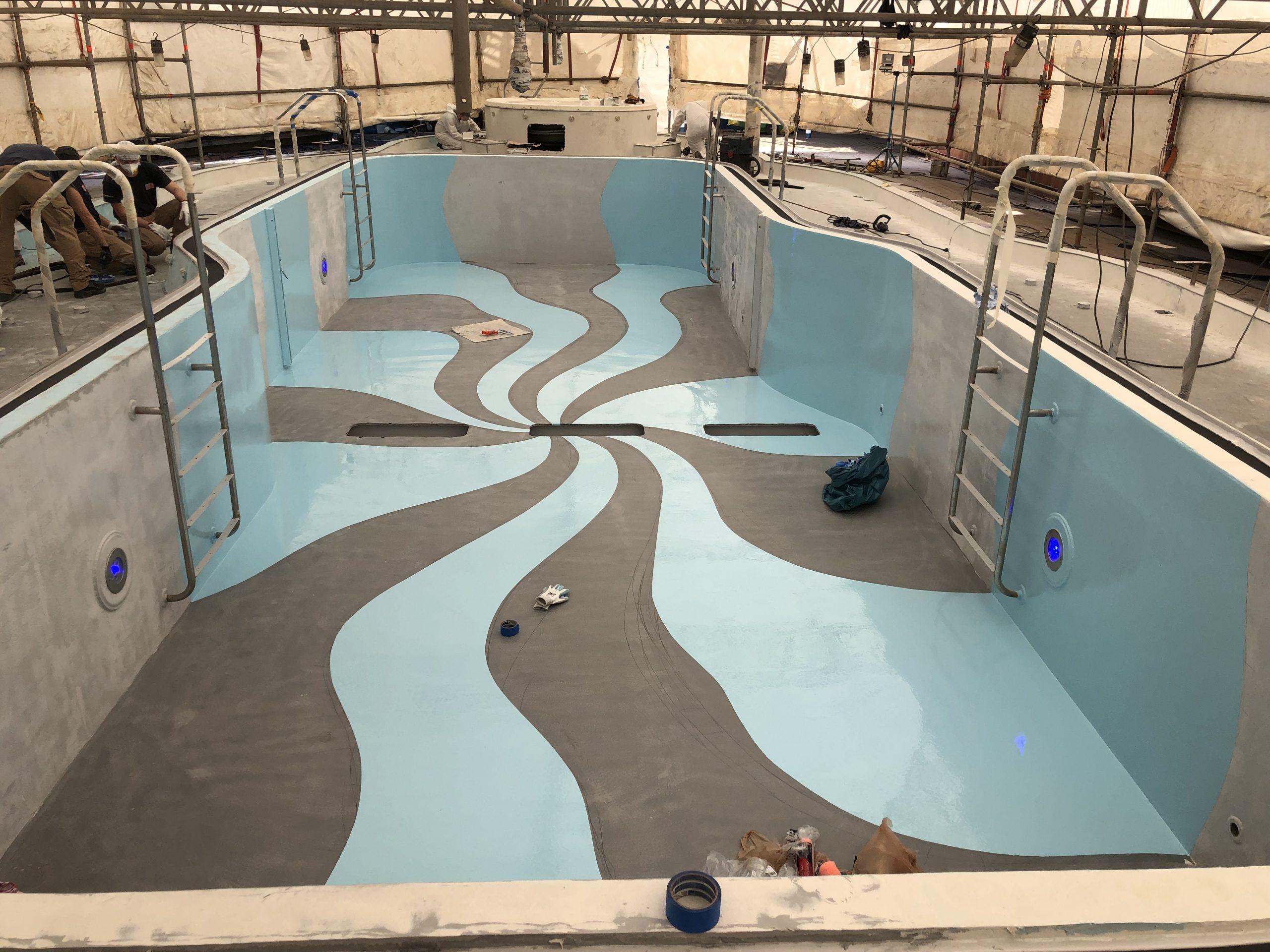 Carnival cruise Fantasy diego bormida artist pool chemco design epoxy resin precetti (16)