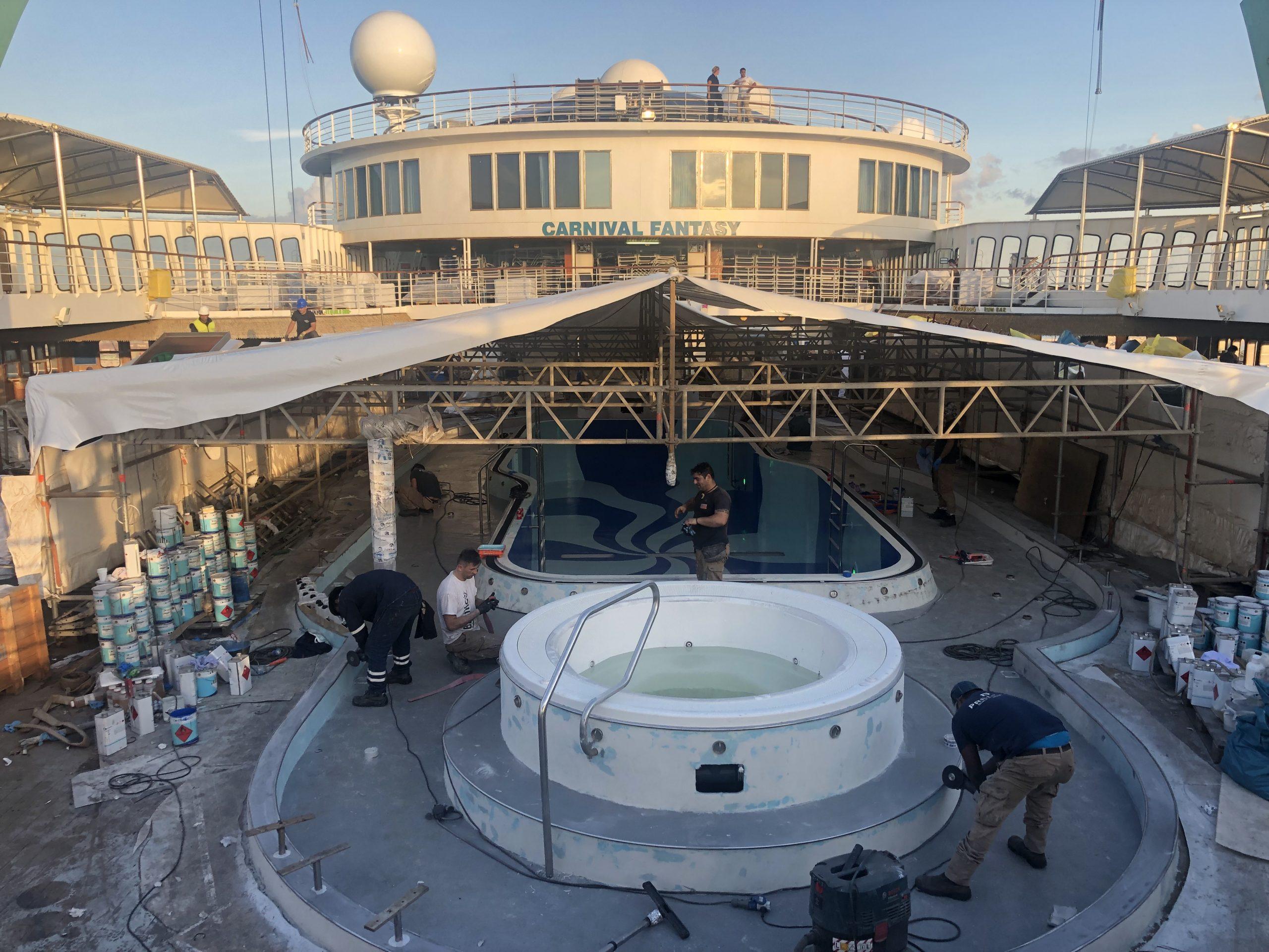 Carnival cruise Fantasy diego bormida artist pool chemco design epoxy resin precetti (18)