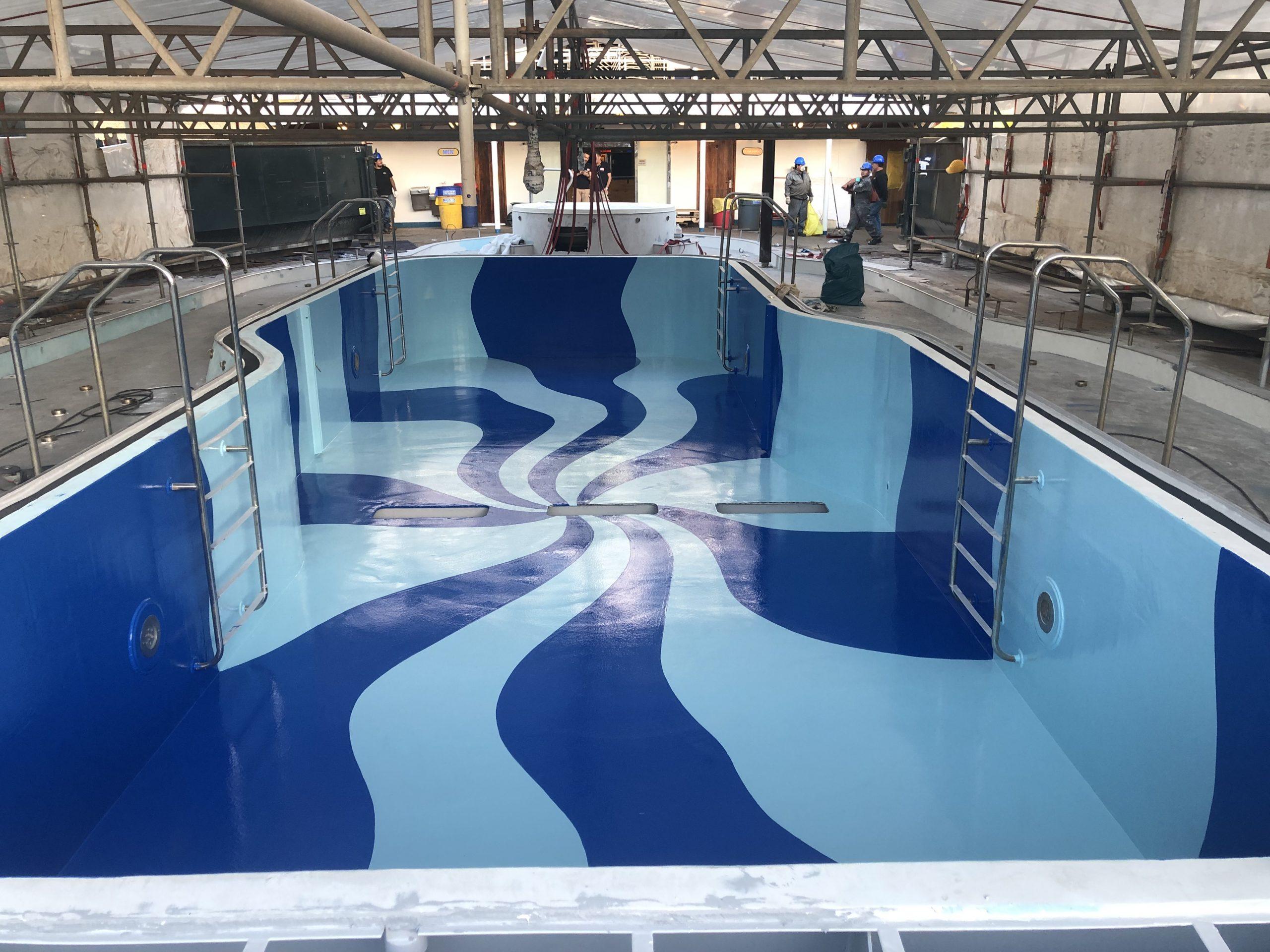 Carnival cruise Fantasy diego bormida artist pool chemco design epoxy resin precetti (19)