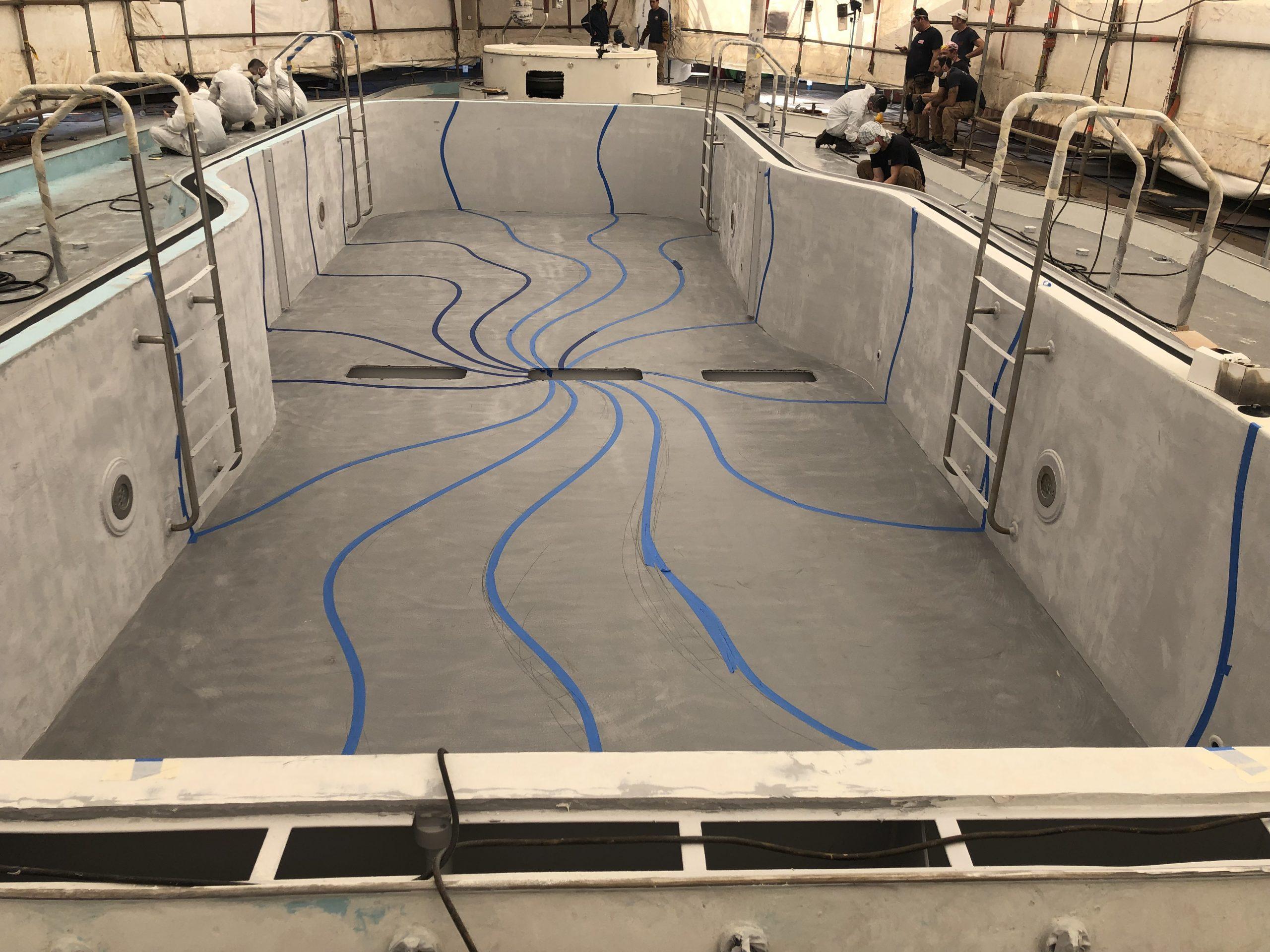 Carnival cruise Fantasy diego bormida artist pool chemco design epoxy resin precetti (8)