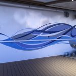 Sky Princess Cruises Diego Bormida Artist Mural Instagram wall (130)