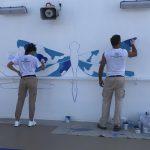 Sky Princess Cruises Diego Bormida Artist Mural Instagram wall (154)