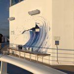 Sky Princess Cruises Diego Bormida Artist Mural Instagram wall (19)