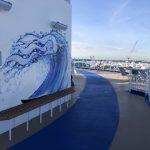 Sky Princess Cruises Diego Bormida Artist Mural Instagram wall (2)