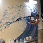 Sky Princess Cruises Diego Bormida Artist Mural Instagram wall (31)