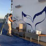 Sky Princess Cruises Diego Bormida Artist Mural Instagram wall (54)
