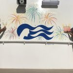 Sky Princess Cruises Diego Bormida Artist Mural Instagram wall (6)