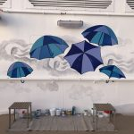 Sky Princess Cruises Diego Bormida Artist Mural Instagram wall (62)