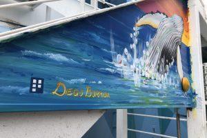 Caribbean Princess Cruises Diego Bormida Artist mural resin dipinti (103)