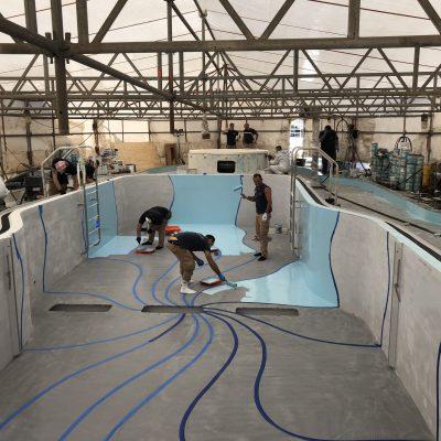 Carnival cruise Fantasy diego bormida artist pool chemco design epoxy resin precetti (9)