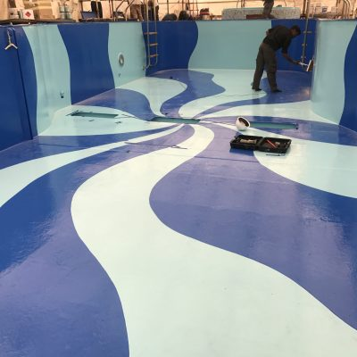 Precetti Carnival Elation Dry Dock Bahamas cruise swimming pool chemco diego bormida artist (184)
