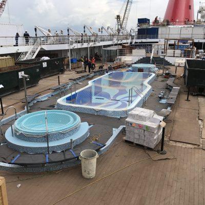 Precetti Carnival Elation Dry Dock Bahamas cruise swimming pool chemco diego bormida artist (197)