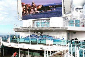 Sky Princess Cruises Diego Bormida Artist Mural Instagram wall (8)
